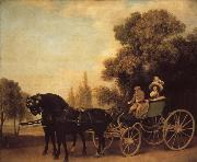 George Stubbs A Gentleman Driving a Lady in a Phaeton
