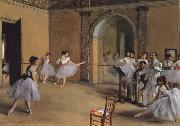 Germain Hilaire Edgard Degas Dance Foyer at the Opera