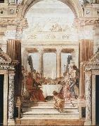 Giovanni Battista Tiepolo Cleopatra-s Banquet oil painting