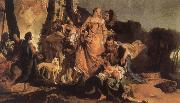 Giovanni Battista Tiepolo The Finding of Moses oil painting