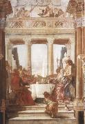 Giovanni Battista Tiepolo The Banquet of Cleopatra oil painting