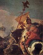 Giovanni Battista Tiepolo The Capture of Carchage oil painting