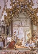 Giovanni Battista Tiepolo The Marriage of the emperor Frederick Barbarosa and Beatrice of Burgundy oil painting