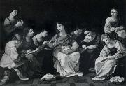 Guido Reni The Girlhood of the Madonna oil painting reproduction