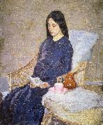 Gwen John The Convalescent oil painting reproduction