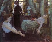 Hans Baluschek Monday morning