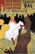 La Goulue,Dance at the Moulin Rouge