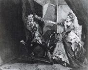David Garrick and Hannah Pritchard as Macbeth and Lady Macbeth after the Murder of Duncan