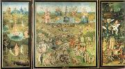 Heronymus Bosch Garden of Earthly Delights oil painting