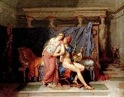 Jacques-Louis  David The Loves of Paris and Helen