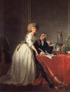 Antoine-Laurent Lavoisier and His Wife