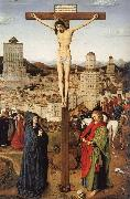 Jan Van Eyck Crucifixion ofChrist oil painting reproduction