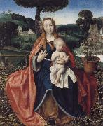 Jan provoost THe Virgin and Child in a Landscape