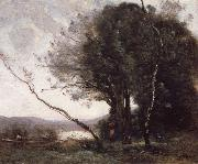 Jean Baptiste Simeon Chardin The Leaning Tree Trunk