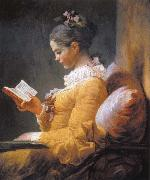 Jean Honore Fragonard A Young Girl Geading