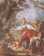 Jean Honore Fragonard Blind-Man-s Bluff oil painting reproduction