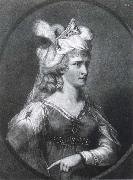 Sarah Siddons as Zara in Congreve-s The Mourning Bridg