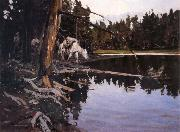 Johnson, Frank Tenney Cove in Yellowstone Park