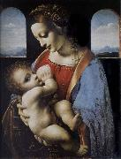 LEONARDO da Vinci Madonna and Child oil painting reproduction