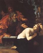 Ludovico Carracci Susannah and the Elders oil painting