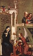 MASTER of Heiligenkreuz Annunciation oil painting reproduction