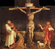 Matthias Grunewald The Crucifixion from the isenheim Altarpiece oil painting