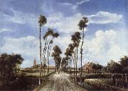 Meindert Hobbema The Avenue at Middelharnis
