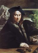 PARMIGIANINO Portrait of A man oil painting reproduction