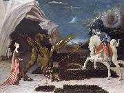 Saint George,the Princess and the Dragon