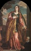 St Lucy and a Donor