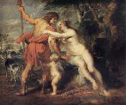 Peter Paul Rubens Venus and Adonis oil painting reproduction