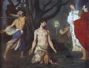 Pierre Puvis de Chavannes The Beheading of Saint John the Baptist oil painting artist