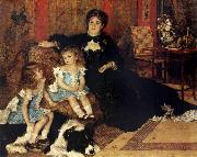 Madame Charpenting and Children