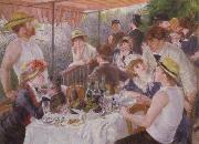 Pierre-Auguste Renoir Lucheon of the Boating Party
