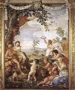 Pietro da Cortona The Golden Age oil painting reproduction