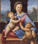 Raphael The Madonna and Child with teh Infant Baptist