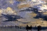 Richard Parkes Bonington On the Adriatic
