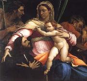 The Madonna and Child with Saints Joseph and John the Baptist and a Donor