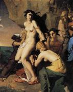 Theodore Chasseriau Andromeda and the Nereids