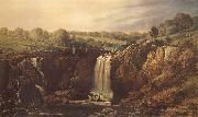 Thomas Clark The Wannon Falls oil painting