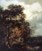 Landscape with a Peasant on a Path