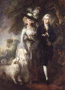 Thomas Gainsborough Mr.and Mrs.William Hallett
