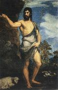 Titian St John the Baptist oil painting reproduction