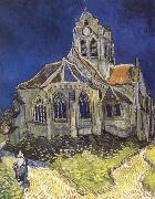 Vincent Van Gogh Church at Auvers