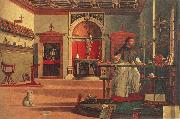 St.Augustine in his study