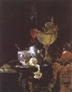 Willem Kalf Still life with Chinese Porcelain Jar