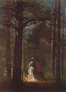 Winslow Homer Der Park von Waverly Oaks oil painting reproduction
