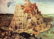 unknow artist THe Tower of Babel oil painting reproduction