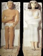 Rahotep and Nofret from Meidoem