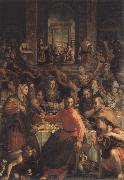 ALLORI Alessandro The wedding to canons oil painting reproduction